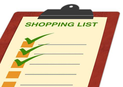The first life skill needed to make a shopping trip successful is planning. Photo credit: Pixabay.