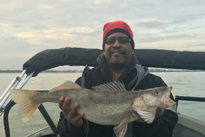 Western Lake Erie and the Detroit River are popular walleye fishing hotspots. Photo: Marc Verge