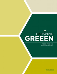 2012 Project GREEEN Legislative Summary Cover