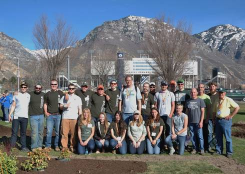 MSU horticulture students who placed 2nd at the 2017 NCLC competition