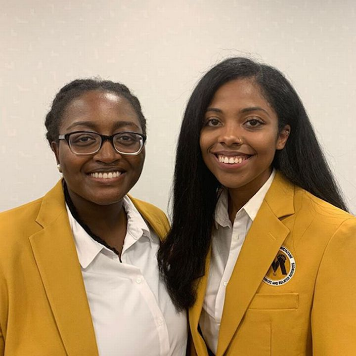 Christián Henry and Micah Cuevas were recently selected as MANRRS national officers.