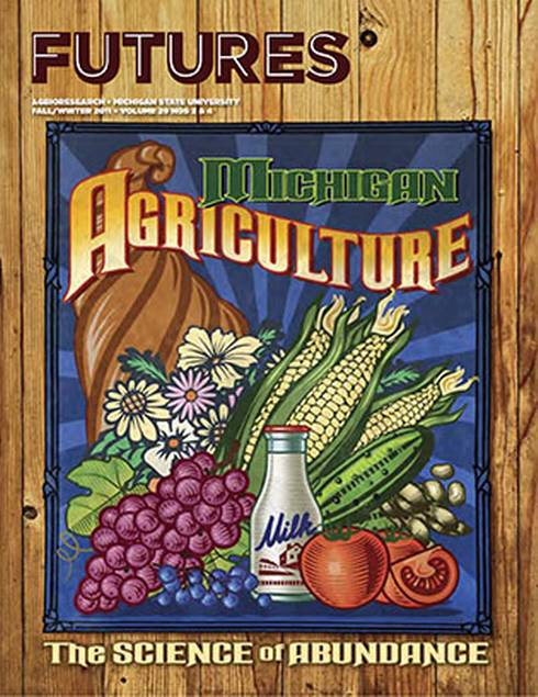Michigan Agriculture: The Science of Abundance Cover