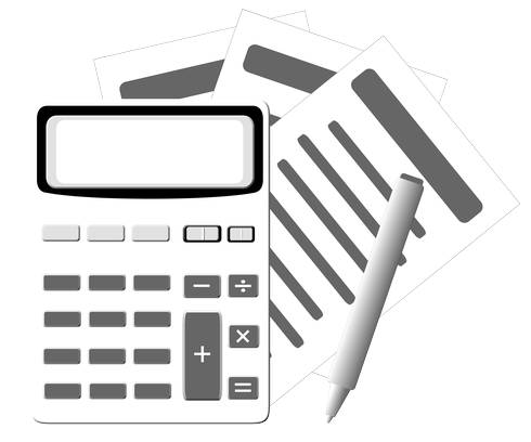 Calculator and paper
