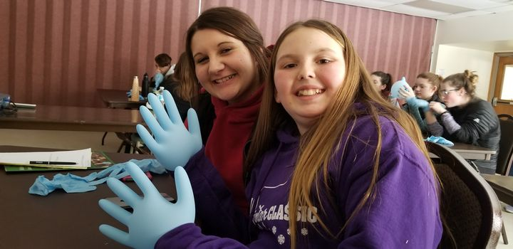 Mecosta County 4-H'er and participant at the 4-H Veterinary Science and 4-H Beef, Sheep and Swine workshops.