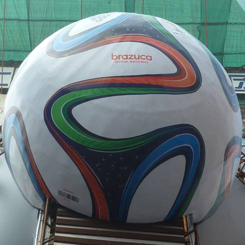 Official 2014 FIFA World Cup Soccer Ball by Adidas