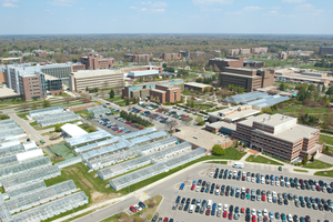 MSU greenhouses: Infrastructure that leads to innovation