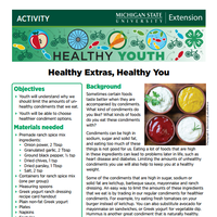 Healthy Youth Activities for 4-H Leaders and Clubs cover page