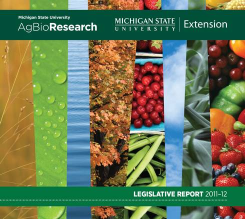 2011-2012 Legislative Report Cover