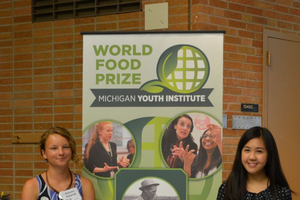 Michigan youth tackle food security at World Food Prize Michigan Youth Institute