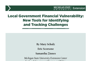 Local Government Financial Vulnerability: New Tools for Identifying and Tracking Challenges