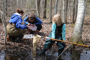Youth and adult citizen scientists help answer questions to real scientific research