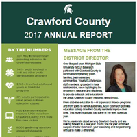 Cover of the Crawford County Annual Report 2017