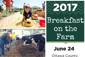 Breakfast on the Farm provides a fun and free learning opportunity for families