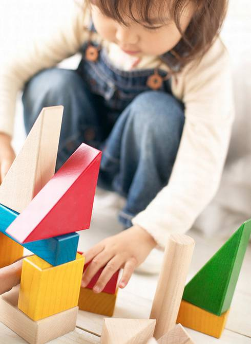 As simple as blocks may seem, they are one of the most important types of learning tools for young children.| MSU Extension