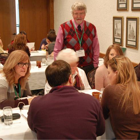 LPI's Mark Wycoff leading a session during the 2015 training program. Photo by Kurt Schindler, MSU Extension