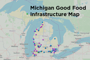 Michigan Good Food Infrastructure Map