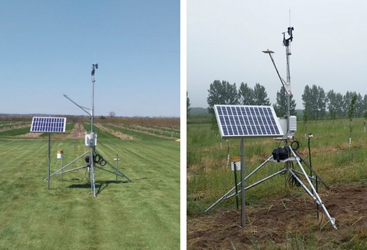 New Enviro-weather stations have been added for Elbridge/Hart (left) and Benona (right).