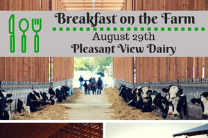 This summer's final Breakfast on the Farm event is hosted in Hillsdale County