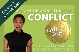"""Communicating through Conflict"" now available as online certificate program"
