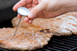 Food safety and food thermometers