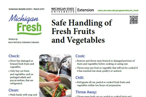 Safe Handling of Fruits and Vegetables (E3212)