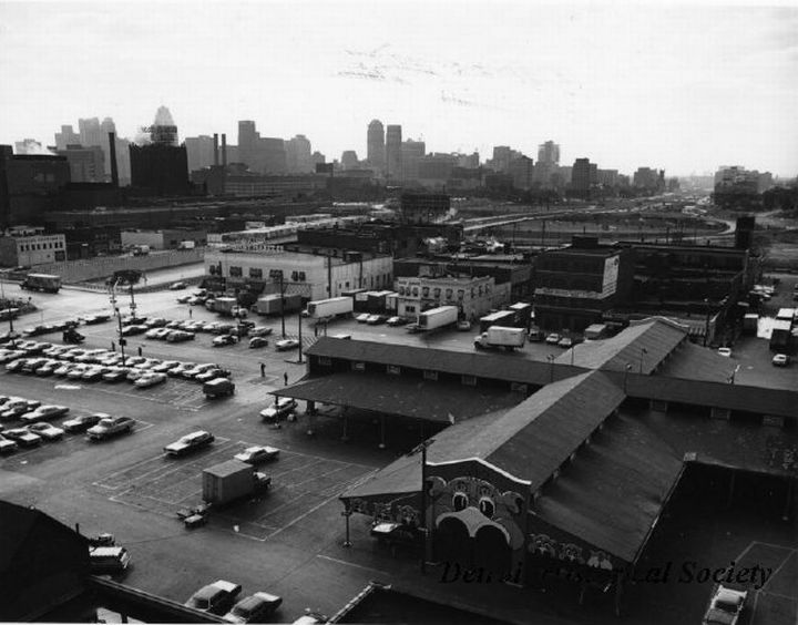 Detroit Eastern Market in 1972 – Courtesy of the Detroit Historical Society