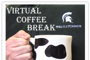 The virtual coffee break with the MSU Extension Dairy team podcast is back