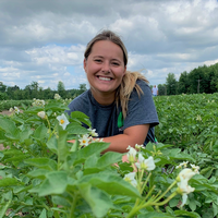 Samantha Thompson was a research intern for AgroLiquid in St. Johns, Michigan, during 2019. The experience helped her develop research skills while measuring soil respiration in experimental plots and crops.
