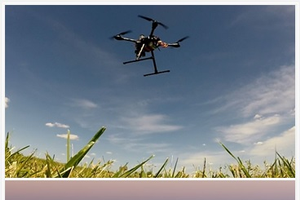Drones in agriculture and hands-on drone training
