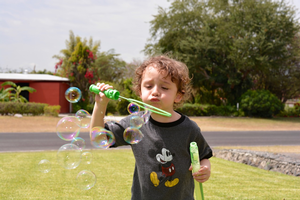 Bubbles: lots of fun and learning too!
