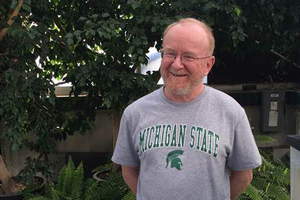 Pete Callow retires after 34 years of service to MSU horticulture