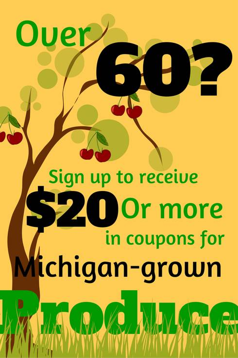 The Senior Market FRESH program allows seniors to benefit from eating more fresh fruits and vegetables in their diets during the summer months and helps boost Michigan's local economy.