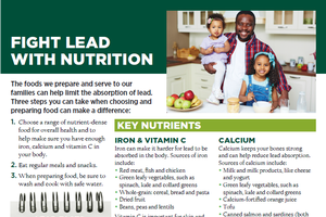 Fight Lead with Nutrition