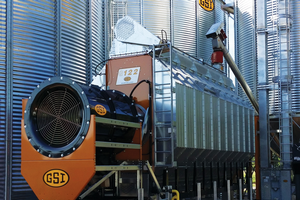 Agricultural energy efficiency tour: grain dryer system on Michigan farm