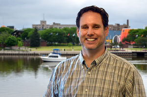 Kip Cronk will focus on working with coastal communities to address Great Lakes, Lake Huron and Saginaw Bay issues. Photo: Michigan Sea Grant