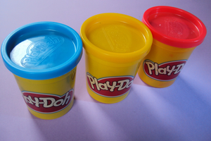Play dough can provide many hours of learning through physical play! Photo credit: Pixabay.