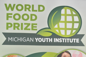 Student Addy Battel at Youth World Food Prize