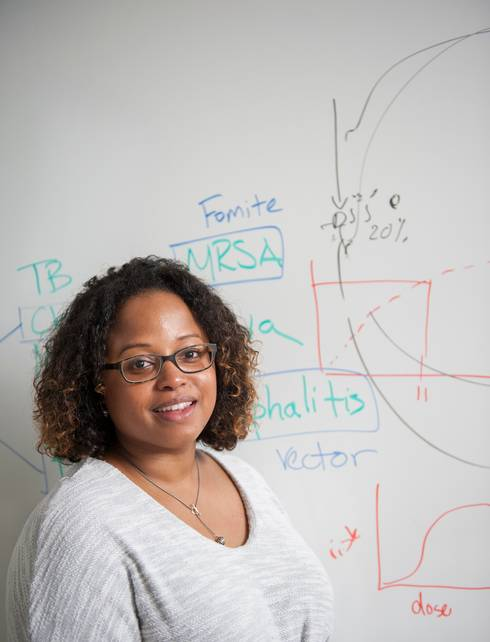 Jade Mitchell developed the Quantitative Microbial Risk Assessment III program to help researchers prevent microbial threats.