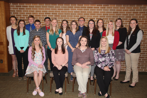 MSU students receive awards from the Michigan Dairy Memorial and Scholarship Foundation for 2018-19