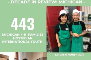 Decade in review of Michigan 4-H International Exchange Programs