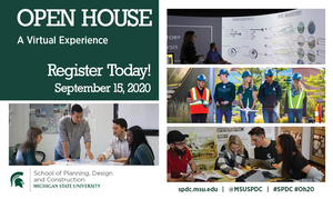Space still available for SPDC Open House: A Virtual Experience on Sept. 15 – Register today!