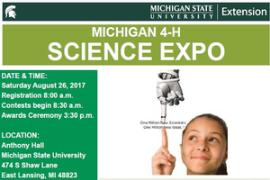 New Michigan 4-H Science Expo offers future scientists a chance to showcase their skills