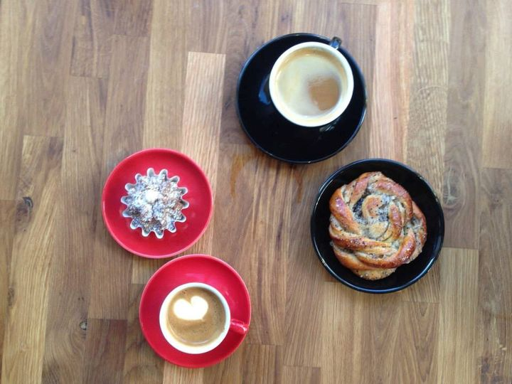 """Fika"" is a Swedish social institution of a break during the day, often for coffee."