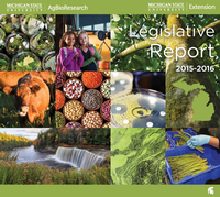 Cover of the 2015-16 Legislative Report.