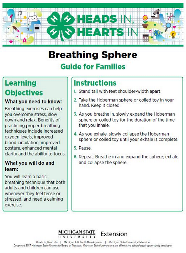 Breathing Sphere cover page.
