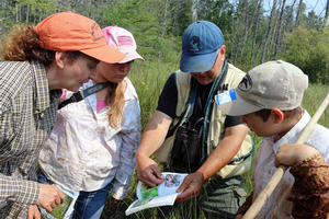 Citizen science in schools affords place-based education opportunities for students