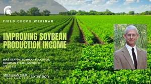 Field Crops Webinar Series addresses profitable soybean production on Feb. 22