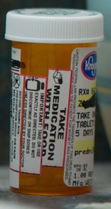 prescription label
