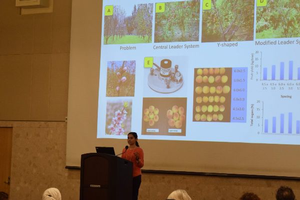 Hort students present at COGS symposium