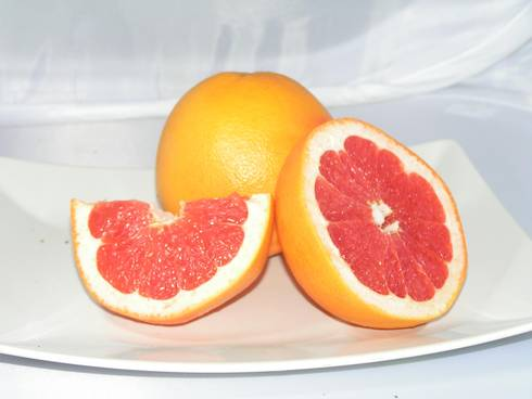 Grapefruit is 91 percent water.
